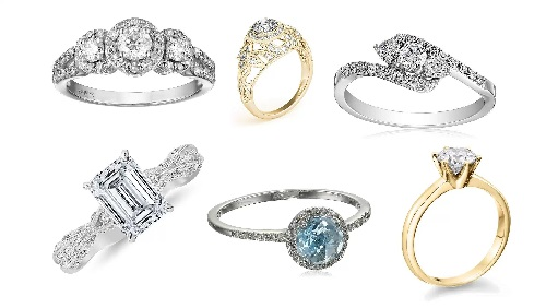 engagement rings diamonds