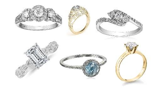 engagement rings diamonds